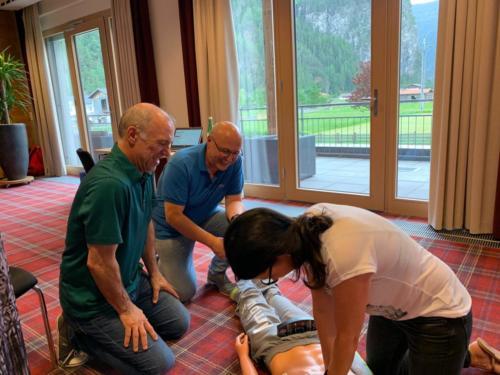 Erste-Hilfe-Kurs - Herzdruckmassage